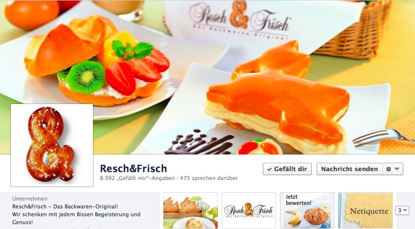 Resch&Frisch auf Facebook